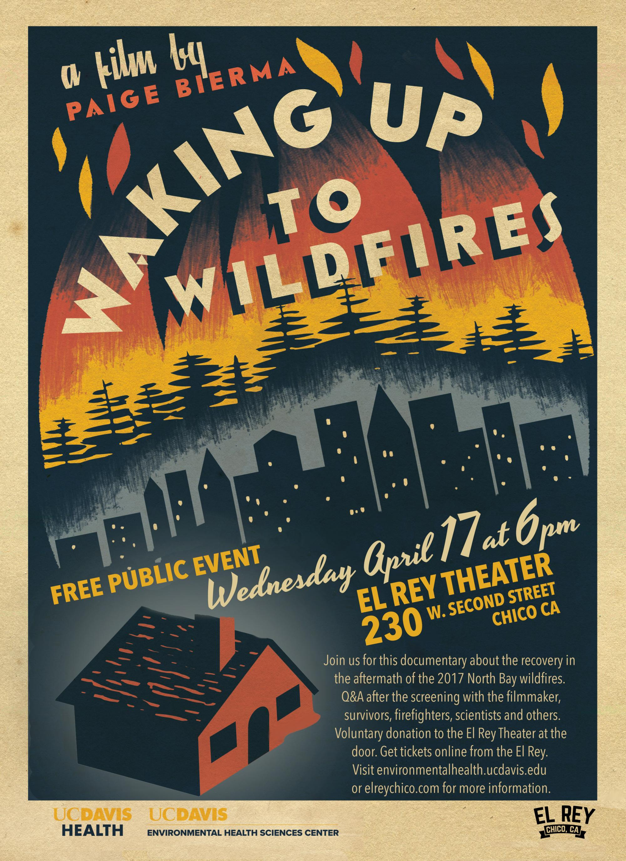 Waking Up to Wildfires film poster