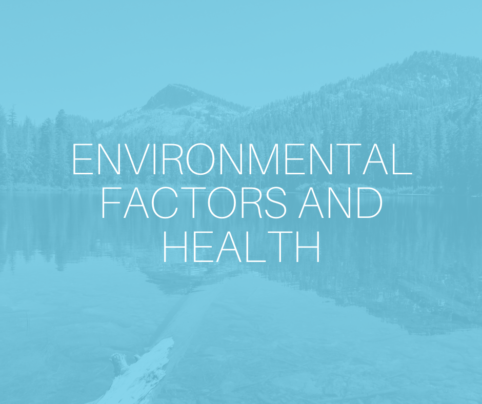 Environmental factors and health