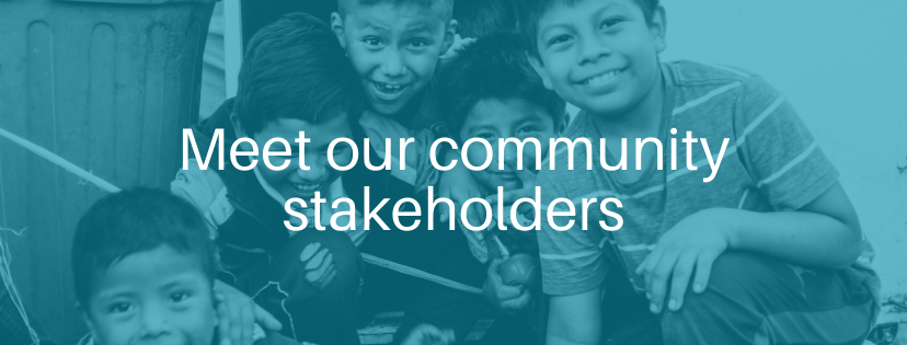 Meet our community stakeholders