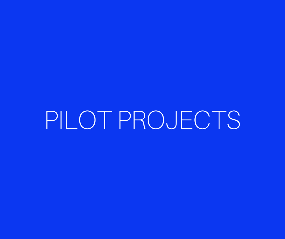 Pilot Project Funding